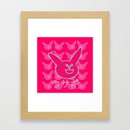Les lapins 7 Framed Art Print