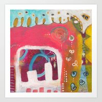india Art Prints featuring India by Joana Carvalho