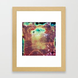 """""""It's a bug in my head."""" Analog. Film photography Framed Art Print"""