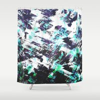 san diego Shower Curtains featuring San Diego by Kardiak