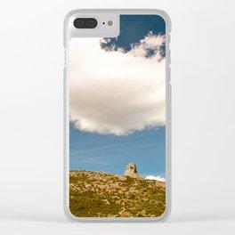 Perda 'e Liana Clear iPhone Case