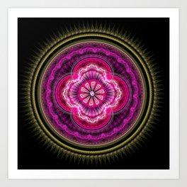 Mandala Nandini Art Print