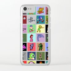 Pixel Heroes Clear iPhone Case