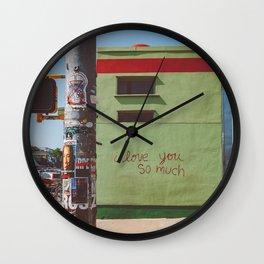 I Love You So Much Austin Wall Clock