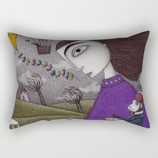 November Stories Rectangular Pillow