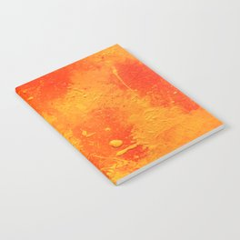Abstract Painting tapestry Notebook
