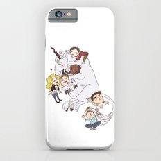 teens and wolves and unicorns iPhone 6s Slim Case