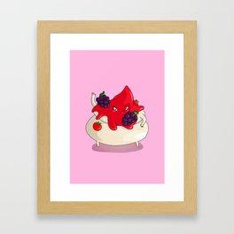 Meringuina Framed Art Print