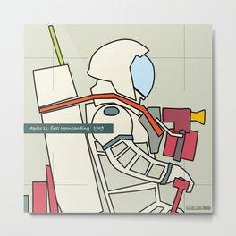 Astronaut 1969 Metal Print