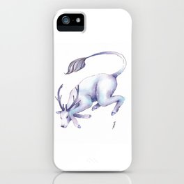 Eternal Deer iPhone Case