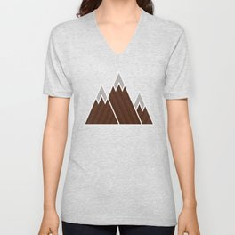 Concrete Mountains Unisex V-Neck