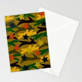 Ballpark Crush Camouflage Stationery Cards
