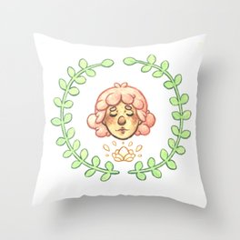 Hearts Content Throw Pillow