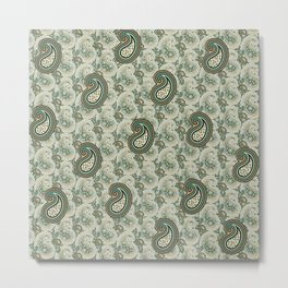 Excited Green Metal Print