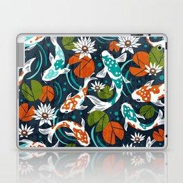 Koi Pond - Orange Laptop & iPad Skin