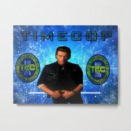 Cop Of The Future Metal Print