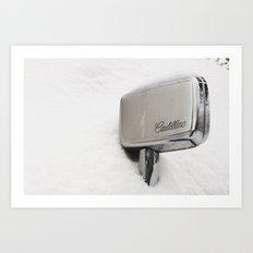 Cadillac Art Print