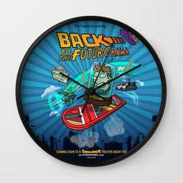 Back to the Futur-o-Rama Wall Clock