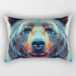 Bear - Colorful Animals Rectangular Pillow