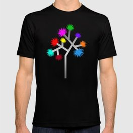 Joshua Tree Pom Poms by CREYES T-shirt