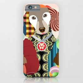 Hipster Doxie iPhone Case