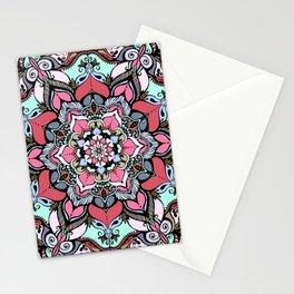 Flowers mandala #38 Stationery Cards