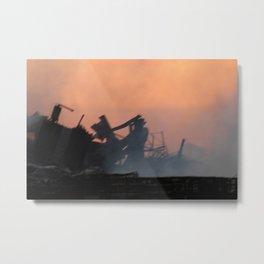 Destruction Metal Print