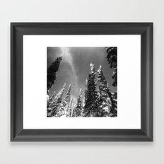 snow-capped . ii Framed Art Print