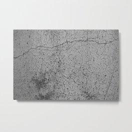 concrete 8 Metal Print