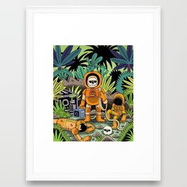 Lost contact Framed Art Print