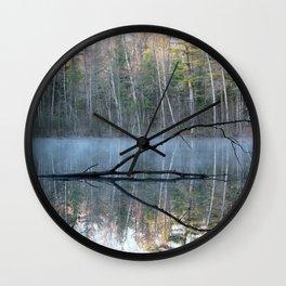 Reflections at Bluegill Pond Wall Clock
