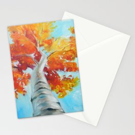 Ivan Maple Tree Stationery Cards