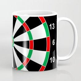 darts game board classic target  Coffee Mug