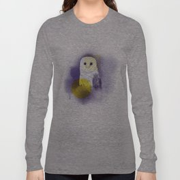 The Calm Owl Long Sleeve T-shirt