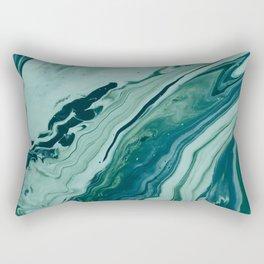 Blue Planet Marble Rectangular Pillow