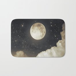 Touch of the moon I Bath Mat