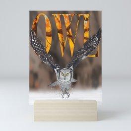 Owl Mini Art Print