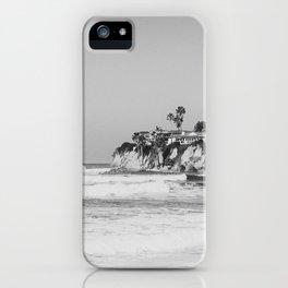 Wavy San Diego Beach Panorama iPhone Case