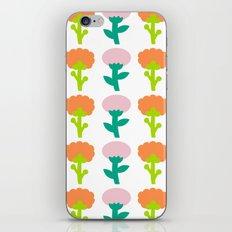 Retro Flower iPhone & iPod Skin