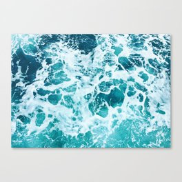 Ocean Splash IV Canvas Print