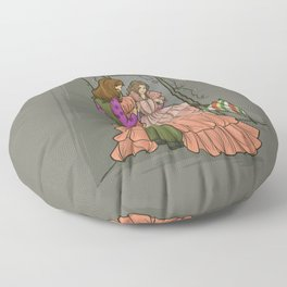 The Shindig Dress Floor Pillow