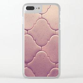 antique tiles Clear iPhone Case
