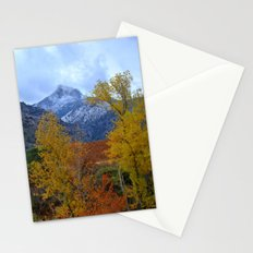 Fall mountains. Misty Trevenque Stationery Cards