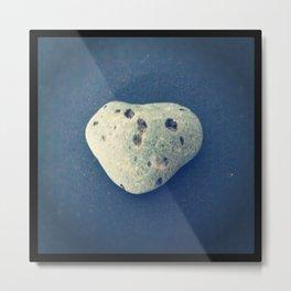 Heart Rock Metal Print