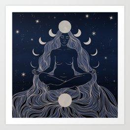 Universal Balance Art Print