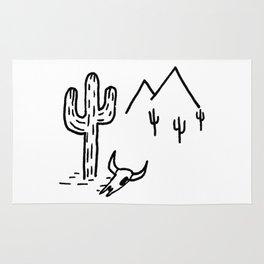 Desert Mountains Rug