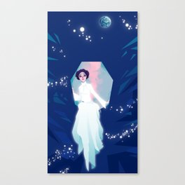 Forever one with the Force Canvas Print