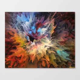 The Birth of a Star Canvas Print