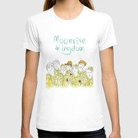 moonrise kingdom T-shirts featuring Moonrise Kingdom by Elly Liyana