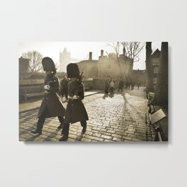 England - Tower of London Guards Metal Print